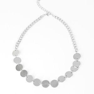 paparazzi Jewelry - Choker and silver bracelet